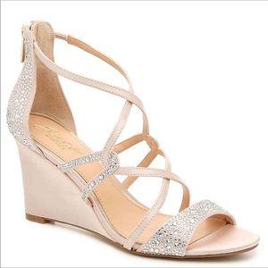 Badgley Mischka Ally II wedge heels
